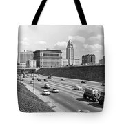 Los Angeles In The 1950s Tote Bag