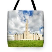 Los Angeles Temple Front Tote Bag