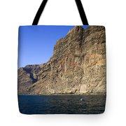 Los Gigantes Cliffs Tote Bag