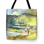 Los Olmos De Penafiel In Spain 01 Tote Bag
