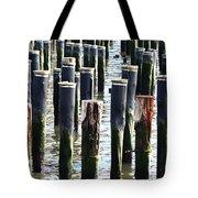 Lost Dock Tote Bag