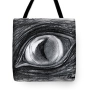 Lost In The Eye Of Your Past Tote Bag