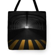 Lost In The Shadows I Walk Alone Tote Bag