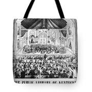 Lottery, 1873 Tote Bag