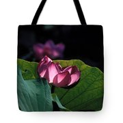 Lotus--echoes Of Light 24h Tote Bag