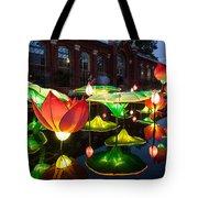 Lotus Flower Tote Bag by Semmick Photo