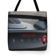 Lotus Taillights Tote Bag