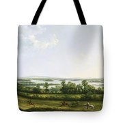 Lough Erne From Knock Ninney - With Bellisle In The Distance Tote Bag