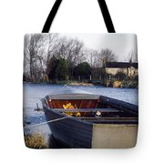 Lough Neagh, Co Antrim, Ireland Boat In Tote Bag
