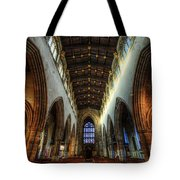Loughborough Church Ceiling And Nave Tote Bag