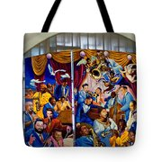 Louis Armstrong Airport Tote Bag