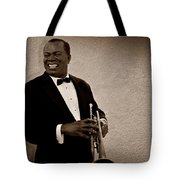 Louis Armstrong S Tote Bag