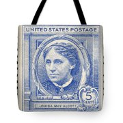 Louisa May Alcott (1832-1888) Tote Bag