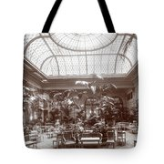 Lounge At The Plaza Hotel Tote Bag
