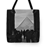 Louvre Archway Tote Bag