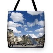 Louvre Museum. Paris Tote Bag
