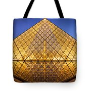 Louvre Pyramid Tote Bag
