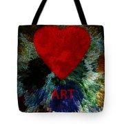 Love Art 3 Tote Bag