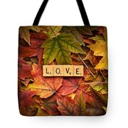 Love-autumn Tote Bag