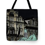 Love Each Other And Wish The Truth To Everyone - Jan Hus Prague Tote Bag