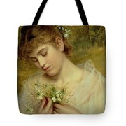 Love In A Mist Tote Bag by Sophie Anderson