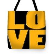 Love In Gold Tote Bag