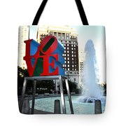 Love Is ..... A Four Letter Word Tote Bag