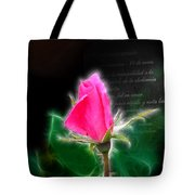 Love Is Electrifying Tote Bag