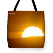 Love Is The Sunshine Tote Bag