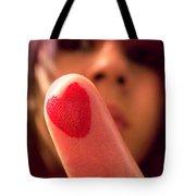 Love Me Love My Finger Tote Bag