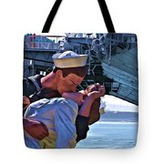 Love Of A Sailor Tote Bag