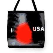 Love Of Country Tote Bag by Joe Jake Pratt