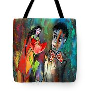 Love Out Of The Blue Tote Bag
