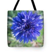 Lovely Dark Blue Gentleman's Button Tote Bag