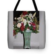 Lovely Floral Arrangement Tote Bag