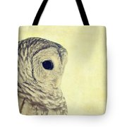 Lovely Lucy Barred Owl Tote Bag