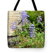 Lovely Lupine Tote Bag