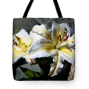 Lovely Sunlit Lily Tote Bag