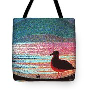 Lovers Beach Tote Bag