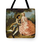 Lovers In A Landscape Tote Bag