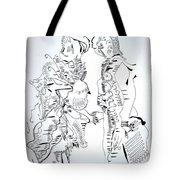 Loves Centrepiece Tote Bag