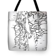 Loves Encounter Tote Bag