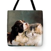 Loving Kiss Tote Bag