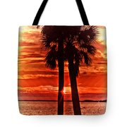 Loving Palms-the Journey Tote Bag