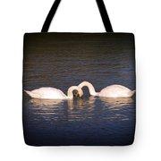 Loving Swans Tote Bag