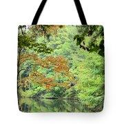 Loving The Season Of Autumn Tote Bag