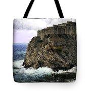 Lovrijenac Tower In Dubrovnik Tote Bag