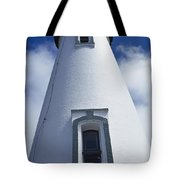 Low Angle View Of Lighthouse Tote Bag