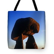 Low Angle View Of Proleek Dolmen Tote Bag