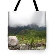 Low Clouds, Quebec Tote Bag